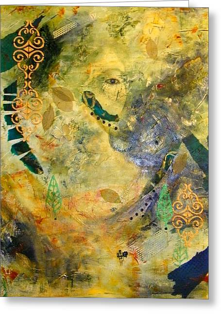 Hidden Beauty Greeting Card by Terry Honstead