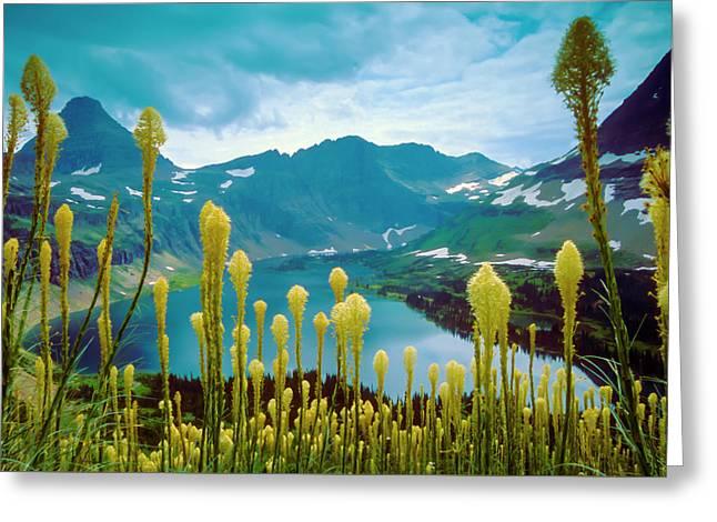 Hidden Lake, Gnp Greeting Card
