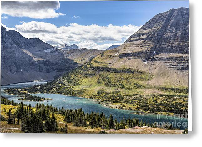 Hidden Lake Overlook Greeting Card