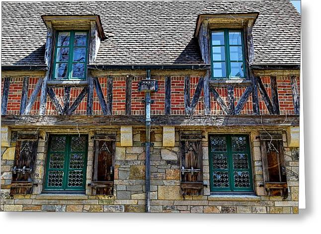 Hidden Lodge - Acadia National Park Greeting Card