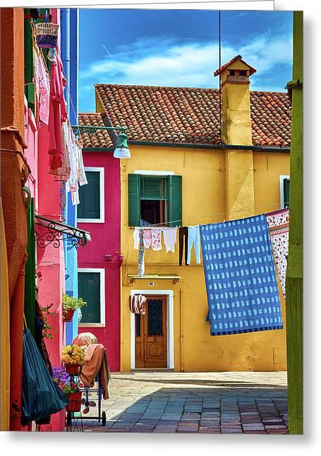 Hidden Magical Alley Greeting Card