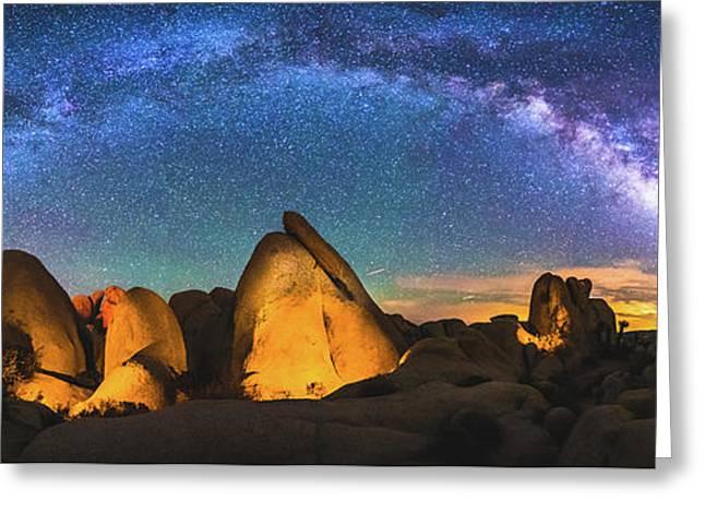 Hidden Valley Milky Way Greeting Card