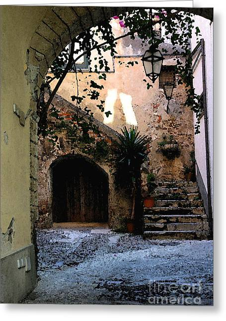 Hide Away Greeting Card by Dennis Curry