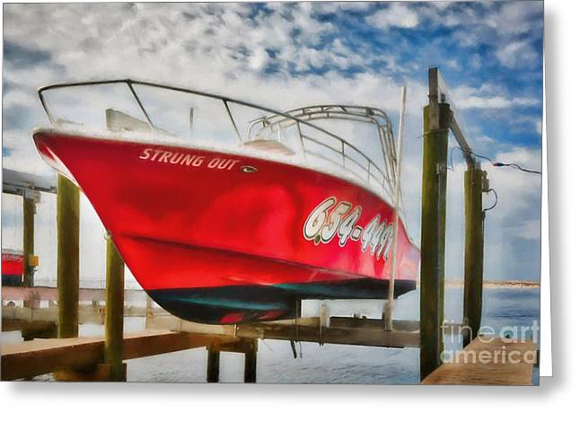 High And Dry In Destin Greeting Card by Mel Steinhauer