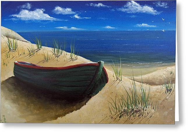 High And Dry Greeting Card by Martin Girolami