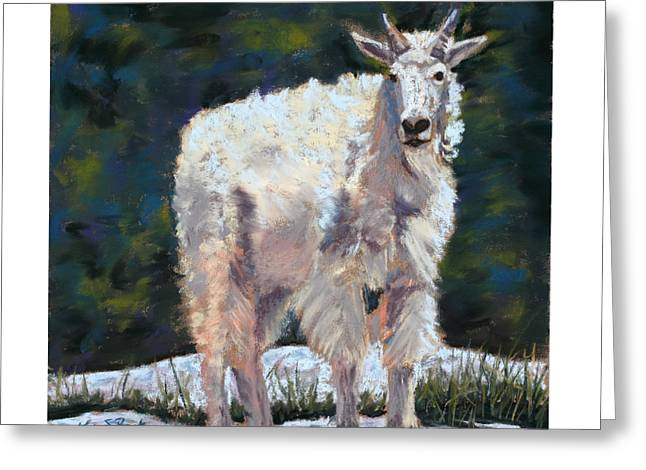 High Country Friend Greeting Card by Mary Benke