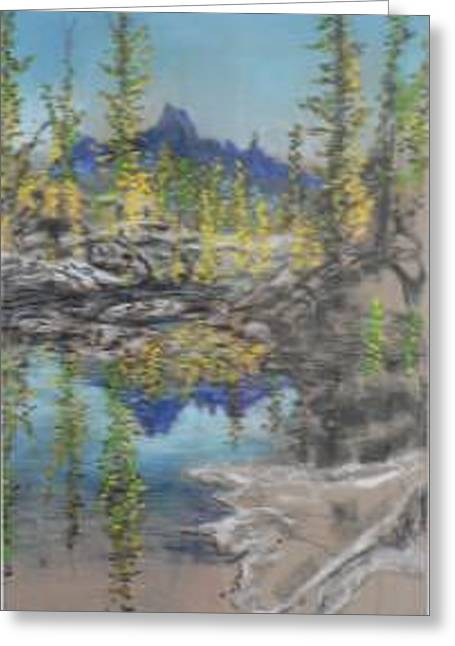 High Country Lake Greeting Card by Dan Bozich