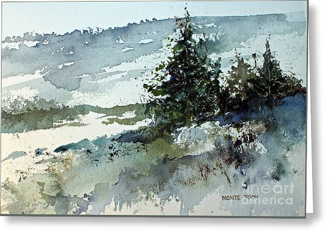 High Country Greeting Card by Monte Toon