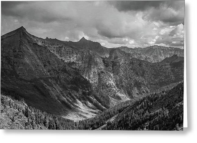 High Country Valley Greeting Card
