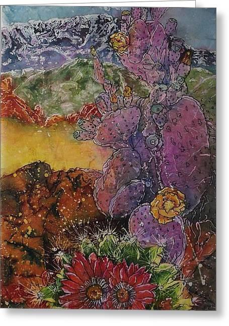 High Desert Spring Greeting Card
