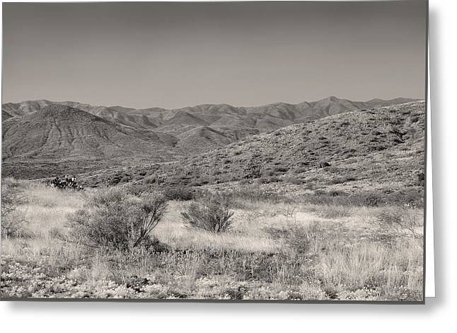 High Desert Vista Greeting Card