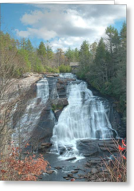 High Falls-dupont State Park Greeting Card