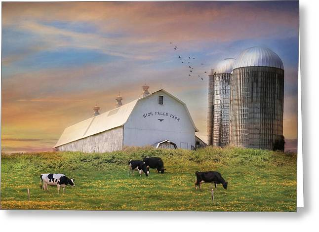 High Falls Farm Greeting Card