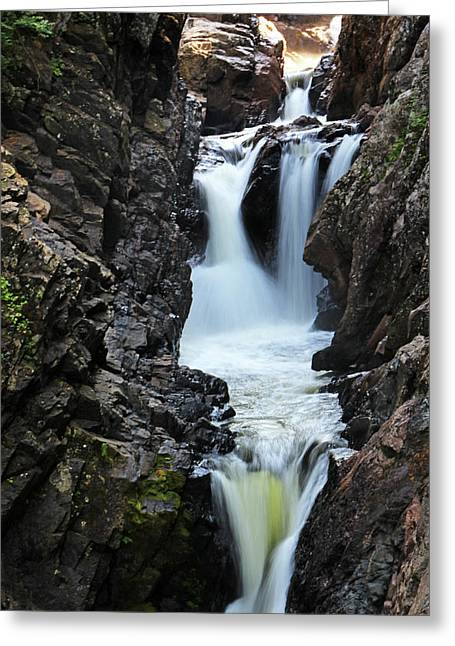 High Falls Gorge Greeting Card