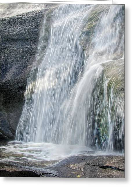 Greeting Card featuring the photograph High Falls Three by Steven Richardson