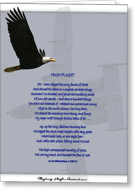 High Flight Greeting Card