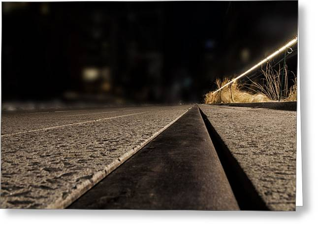 High Line At Night Greeting Card by Pelo Blanco Photo
