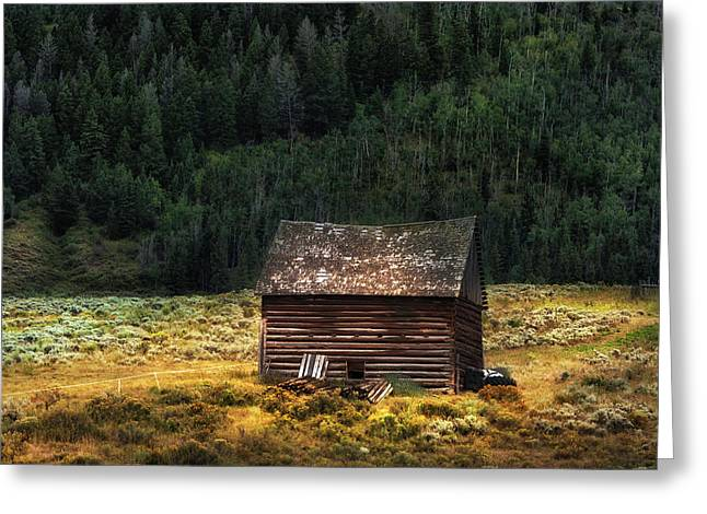 High Lonesome - Www.thomasschoeller.photography Greeting Card by Thomas Schoeller