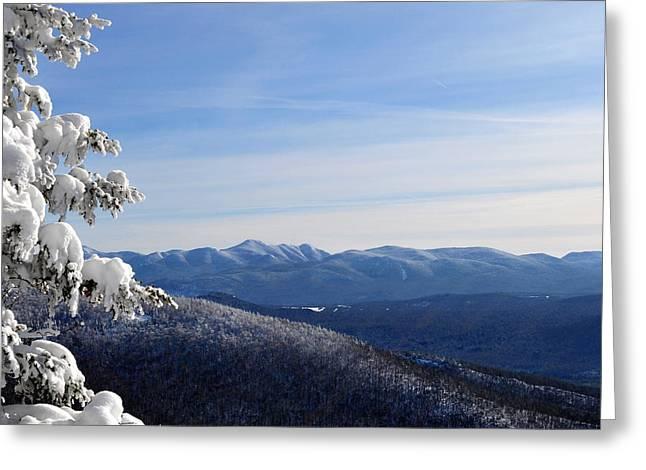 High Peaks Greeting Card