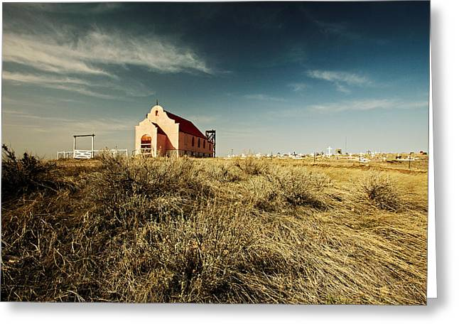 High Plains Church Greeting Card