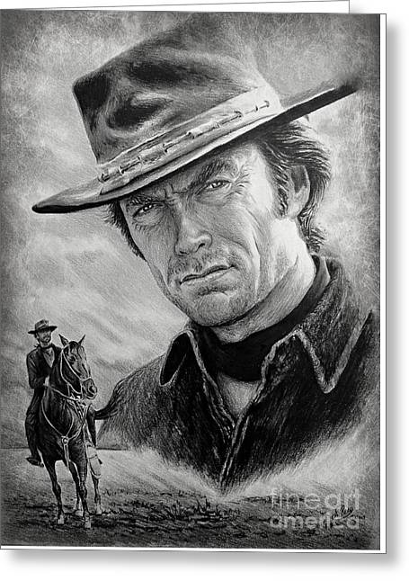 High Plains Drifter Greeting Card