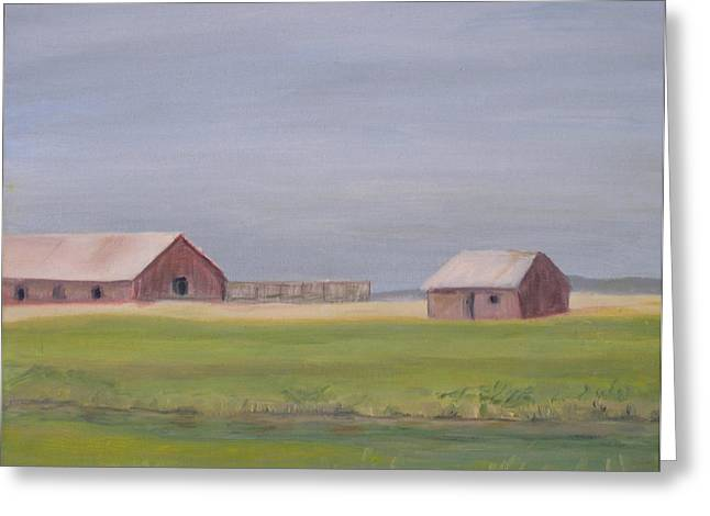 High Plains Greeting Card by Patricia Caldwell