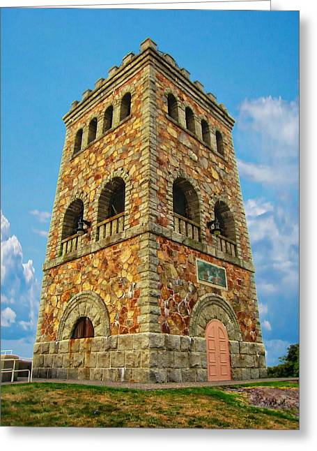 High Rock Tower Greeting Card