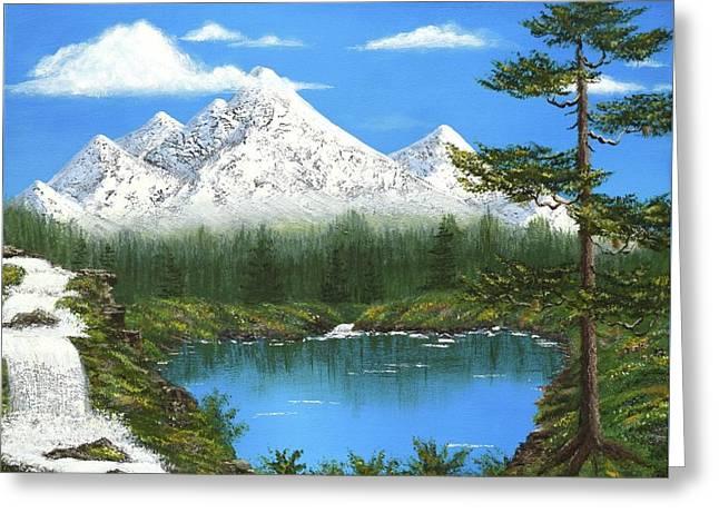 High Sierras Lake Greeting Card