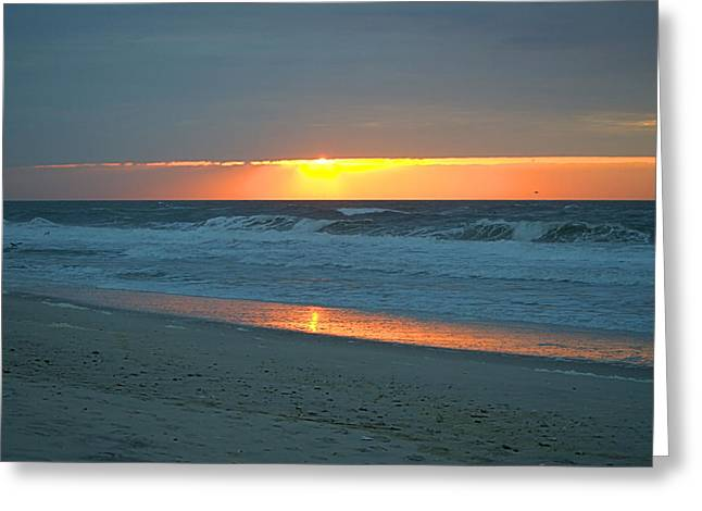 High Sunrise Greeting Card by  Newwwman