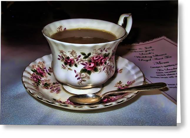 High Tea Greeting Card