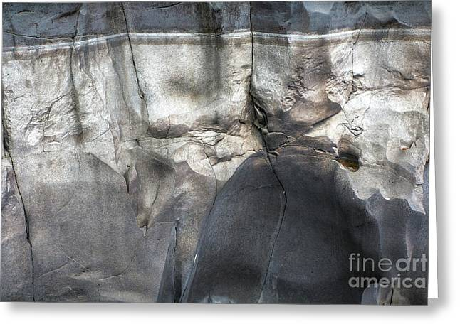 High Water Mark Rock Art By Kaylyn Franks Greeting Card