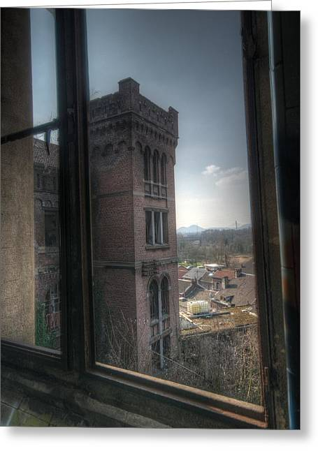 High Window Greeting Card by Nathan Wright