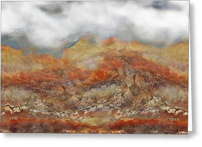 Higher Elevation Fog Greeting Card