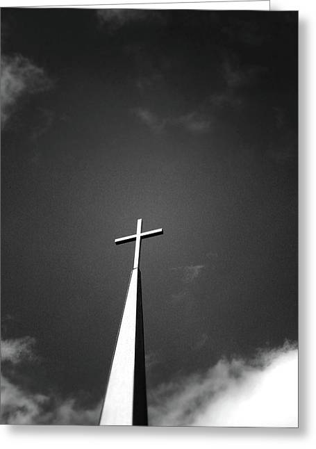 Higher To Heaven - Black And White Photography By Linda Woods Greeting Card