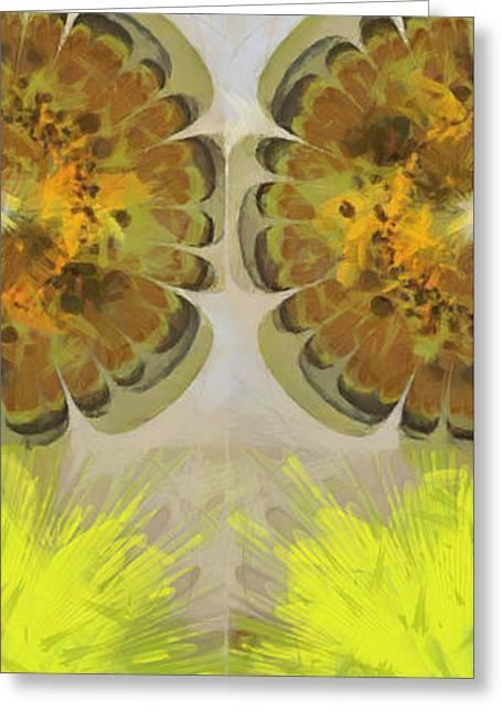 Highflier Configuration Flowers  Id 16165-022140-64330 Greeting Card
