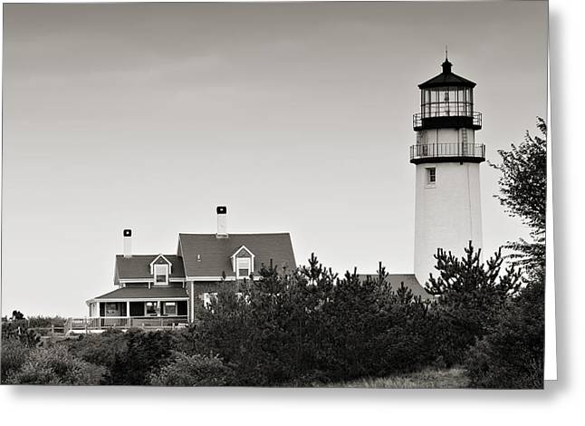 Highland Light At Cape Cod Greeting Card