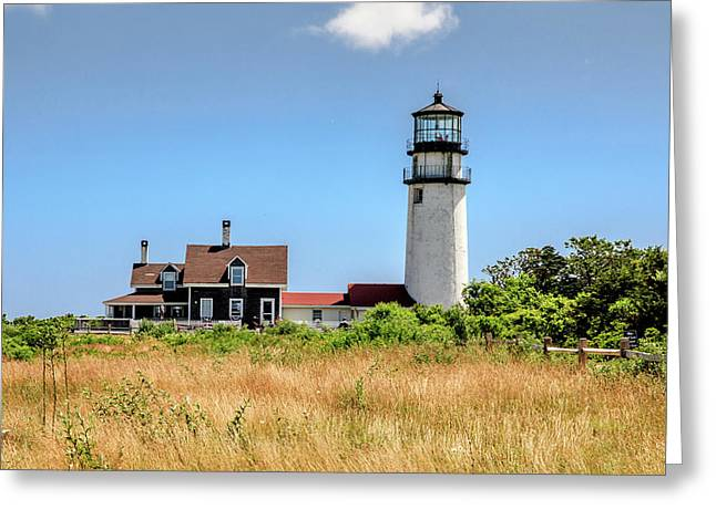 Highland Light - Cape Cod Greeting Card