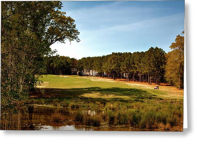 Highland Oaks Golf Course Greeting Card by Mountain Dreams