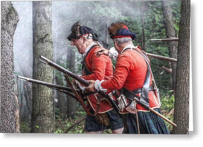 Highlanders Forward Greeting Card