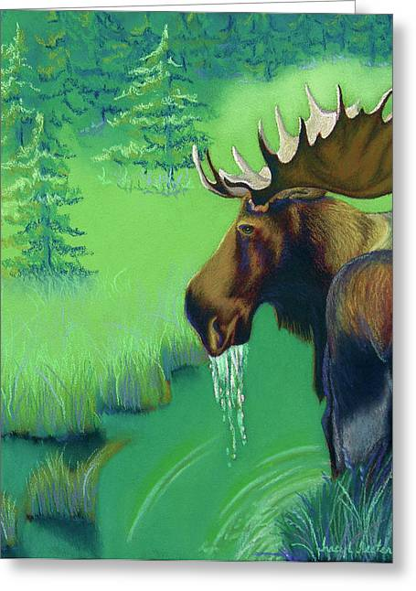 Hunter Pastels Greeting Cards - Highlands Greeting Card by Tracy L Teeter
