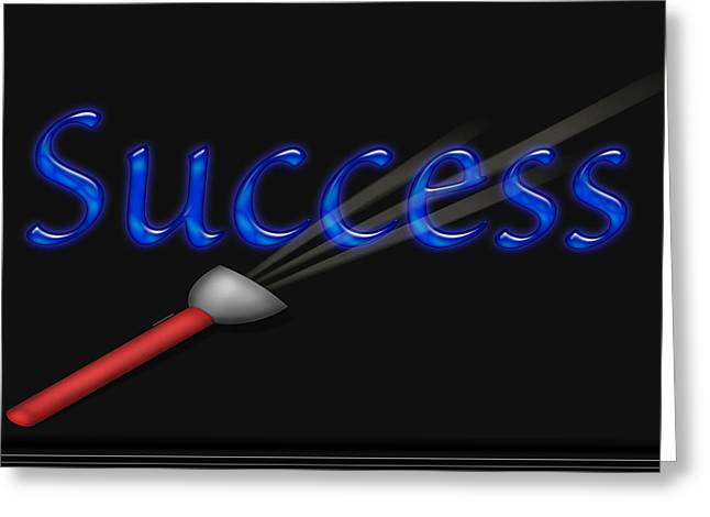 Highlight Success Greeting Card