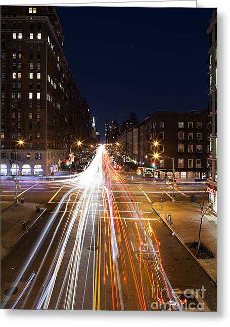 Highline Greeting Card by John Farnan