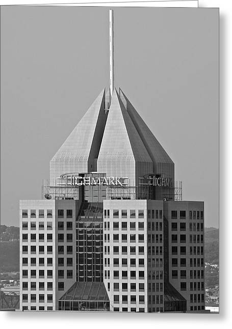 Highmark Grayscale Greeting Card by Frozen in Time Fine Art Photography