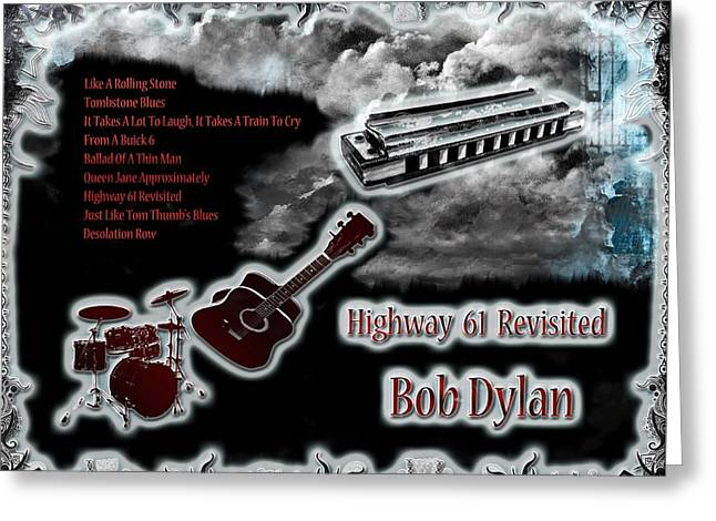 Highway 61 Revisited Greeting Card by Michael Damiani