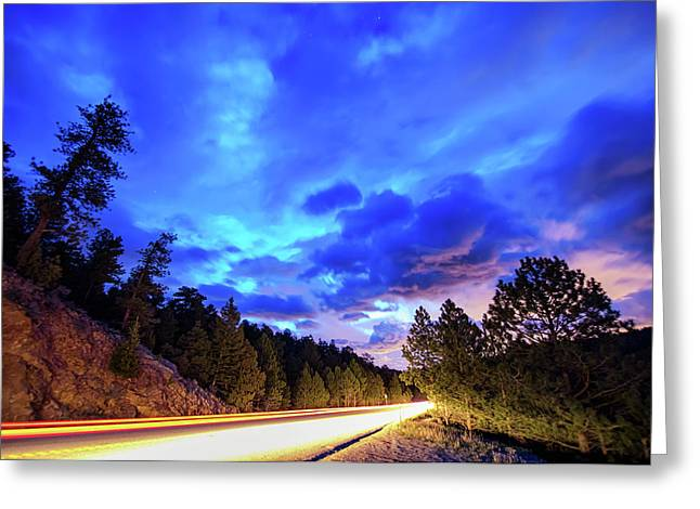 Highway 7 To Heaven Greeting Card by James BO Insogna