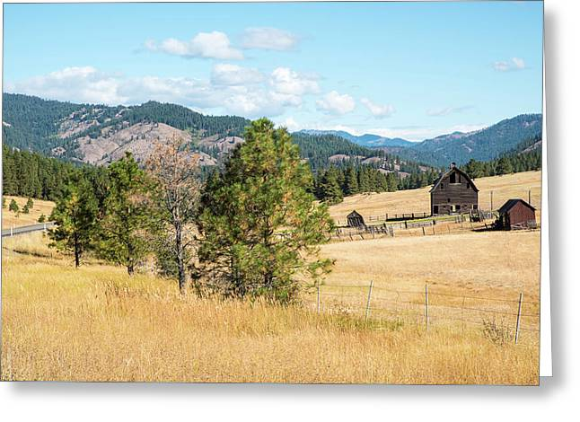 Highway 97 Ranch Memories Greeting Card