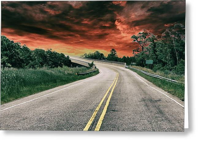 Highway Classic 2 Greeting Card