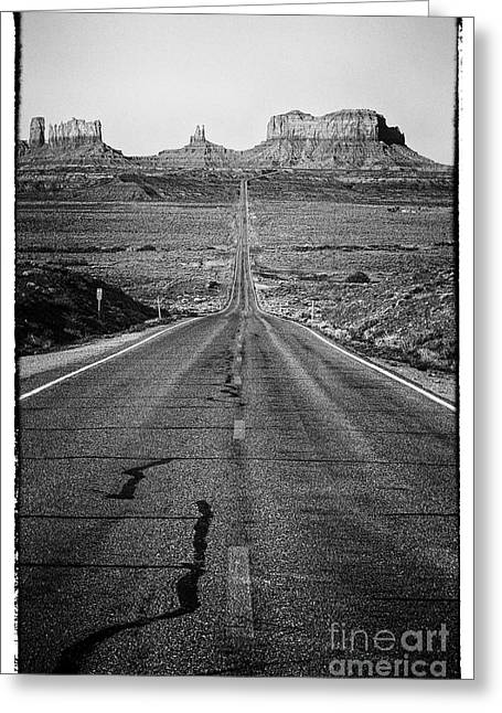 Unique View Photographs Greeting Cards - Highway Greeting Card by Hideaki Sakurai