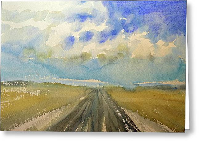 Highway Greeting Card