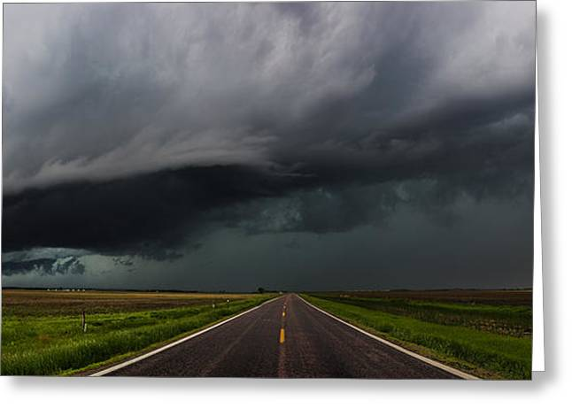 Highway To Hell Greeting Card